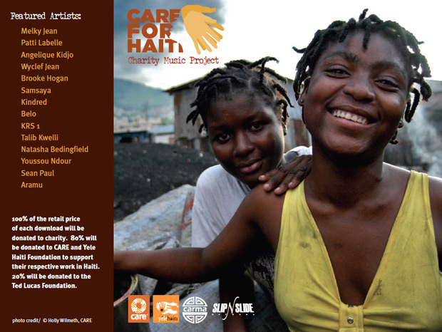 care_for_haiti_album